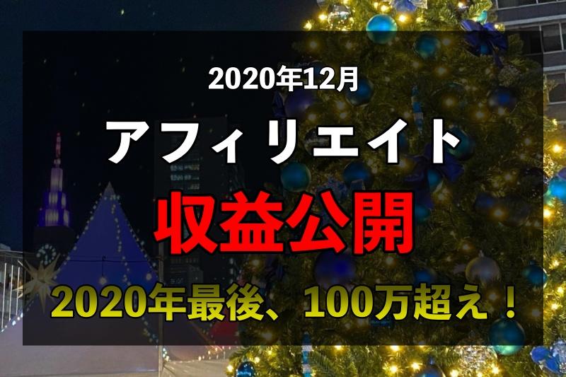 【12月収益公開】2020年最後の月もガッツリ稼ぎました!